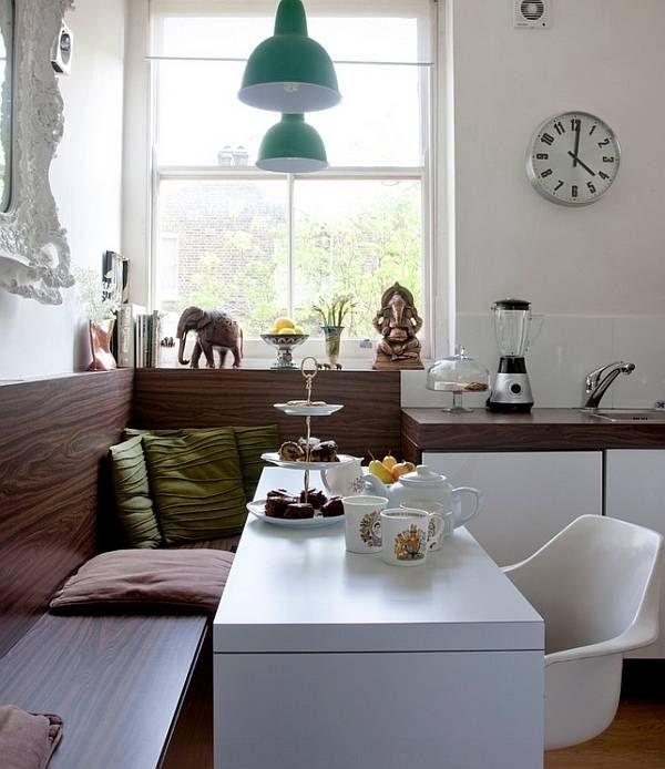 Kleine Räume dekorieren   – Dining Room