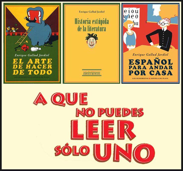 Publicidad de varios libros de Enrique Gallud Jardiel, publicados en Espuela de Plata, Sevilla.