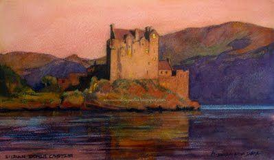 Author : Anónimo de la Piedra.Eilean Donan Castle.  Scotland. http://anonimodelapiedra.blogspot.com.es/