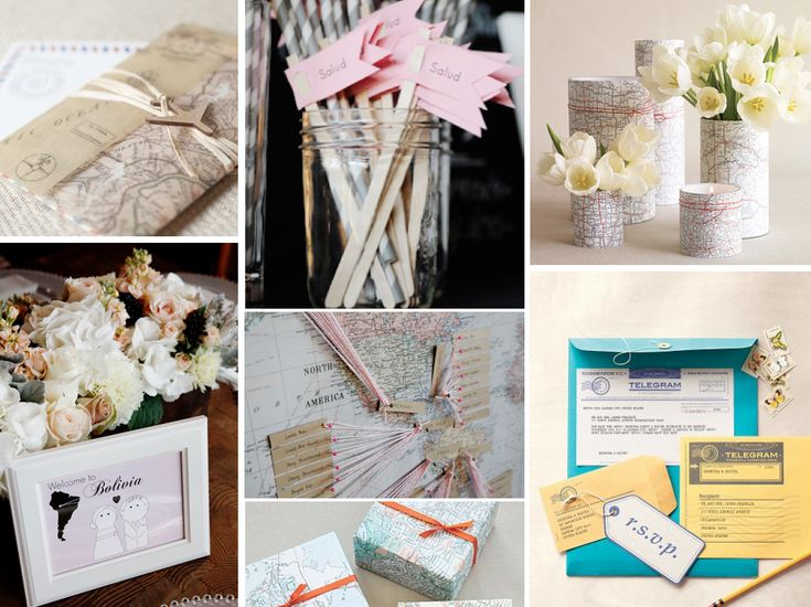 {jet-setter} travel themed wedding