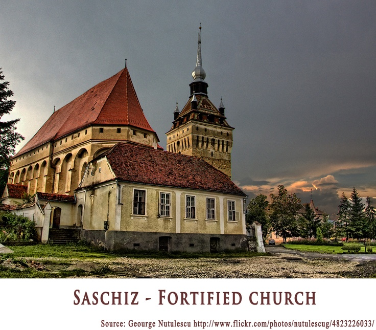Saschiz Fortified Church   https://www.facebook.com/FromTransylvaniaWithLove