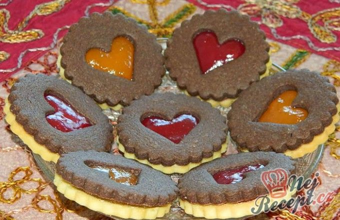 Kakaové linecké pečivo