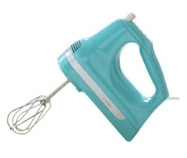 Hand Mixers Kitchen | KitchenAid Hand Mixer 7 Speed From Martha Stewart's Blue Collection, A ...