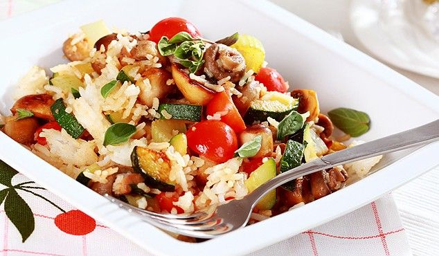 Rižoto – talijansko jelo s rižom i povrćem #moderno #ukusno #Bonduelle