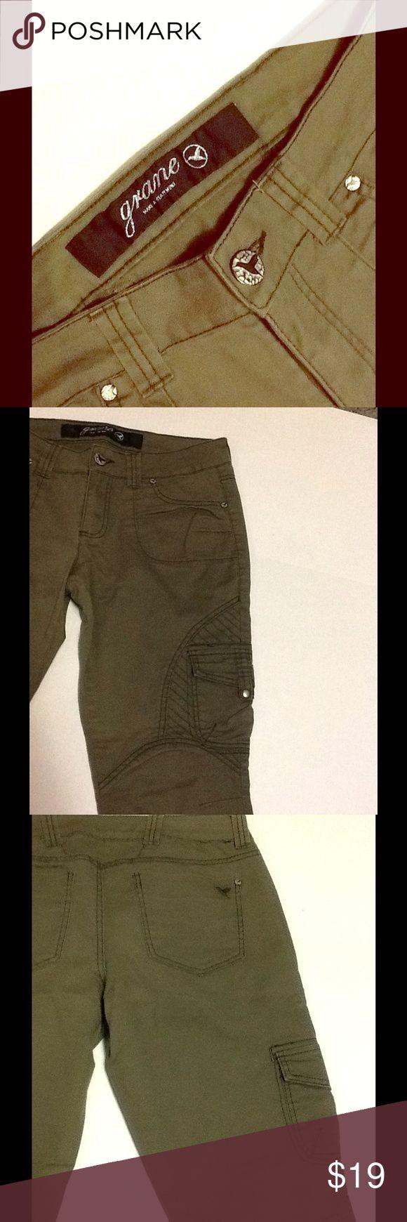 Grane green military skinny pants! Grane green military skinny pants! Grane Pants Skinny