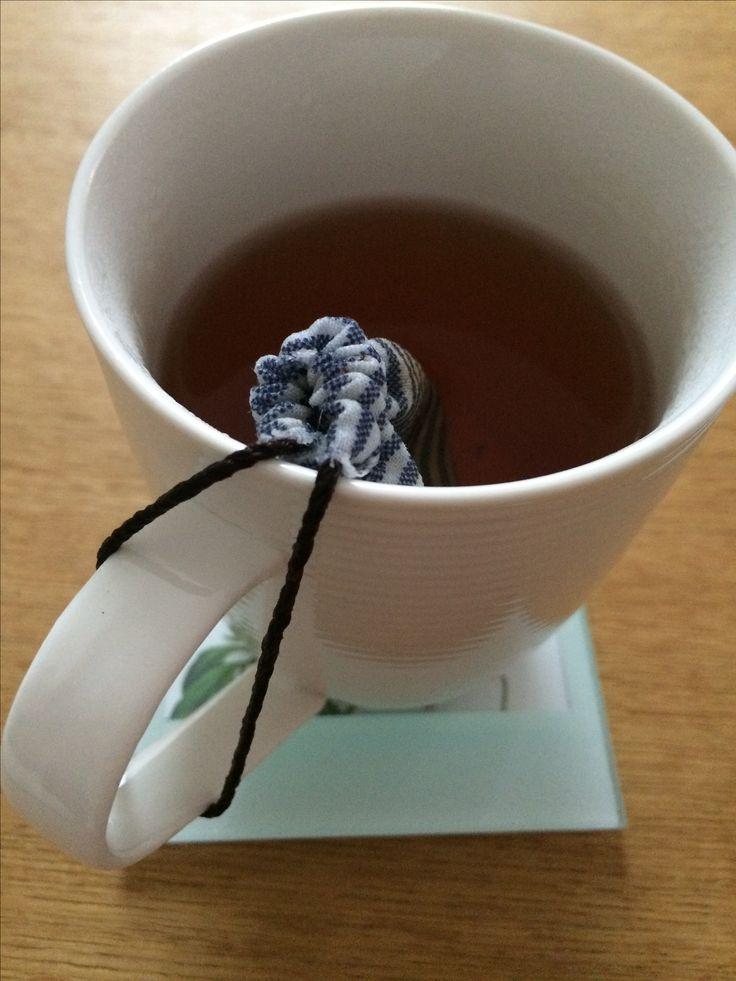 Reusable tea bag.