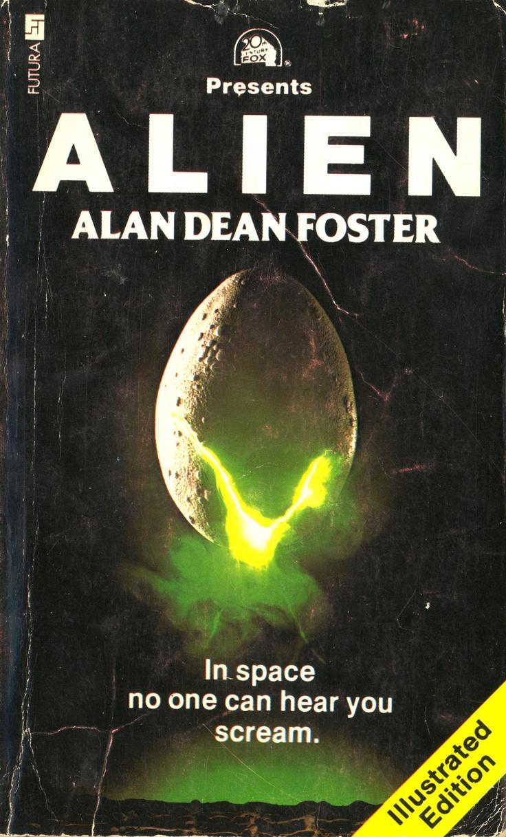 Alien By Alan Dean Foster Libros Cine Dibujos Realistas