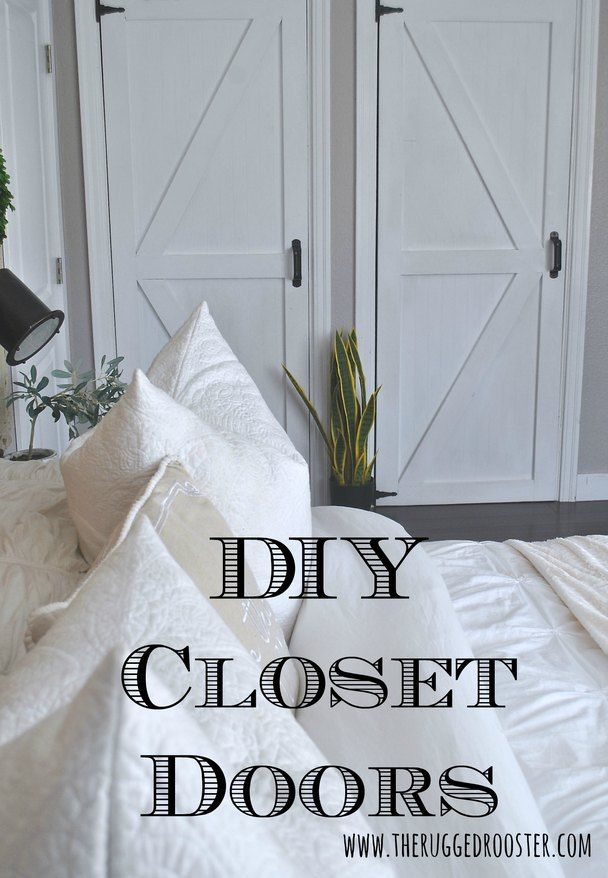 How to make cheap closet doors easy step by step tutorial find this pin and more on country modern decor