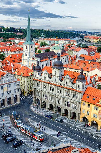 Mala Strana district, Prague / Czech Republic (by Pablo López).