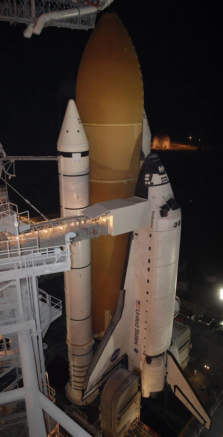 space shuttle endeavour in space - photo #32