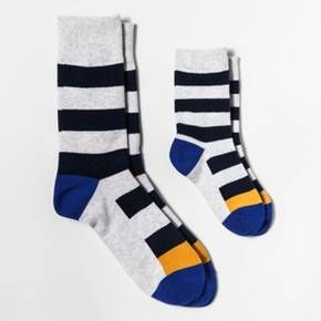 Pair of Thieves Men's Dad + Kid Getting Chai Crew Socks