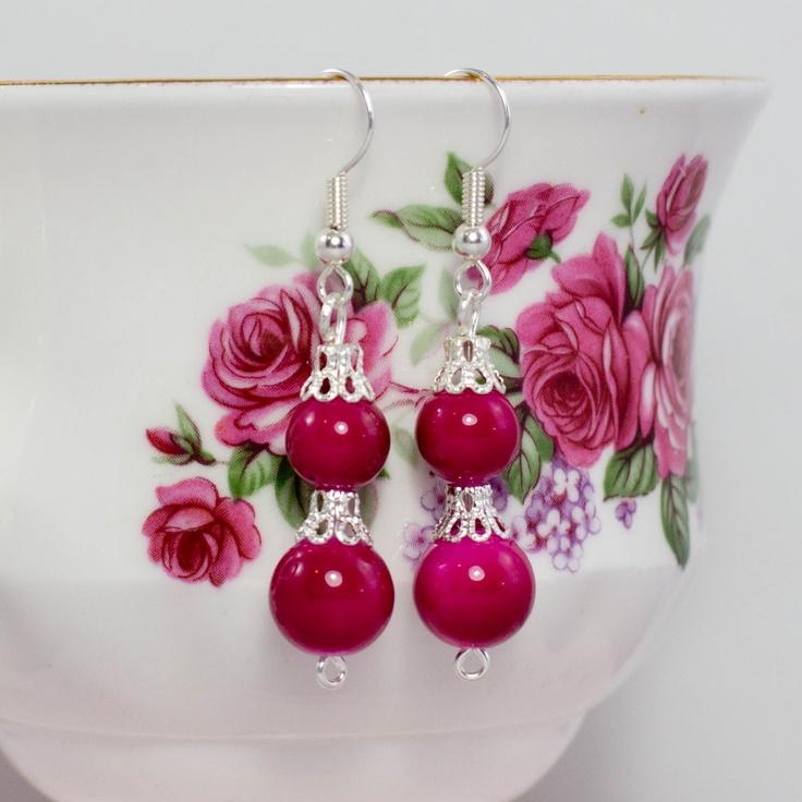 DIY- Earrings: Crafts Ideas, Beads Earrings, Diy Crafts, Dang Earrings, Diy Jewelry, Jewelry Ideas, Easy Diy, Diy Dang, Diy Earrings