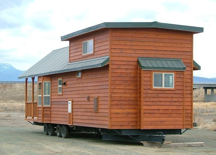 I M Excited To Share This Park Model Tiny Cabin On Wheels