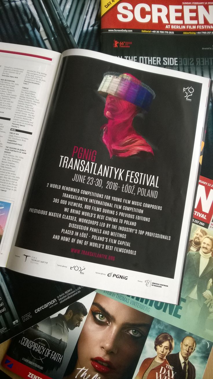 Screen International, Berlinale 2016 // #transatlantyk #PGNiG @PGNiG #lodz