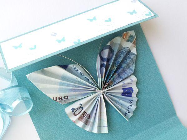 Aprende a realizar esta original tarjeta y haz que regalar dinero sea mucho más especial.