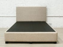New York King Single Bed Base with Bedhead