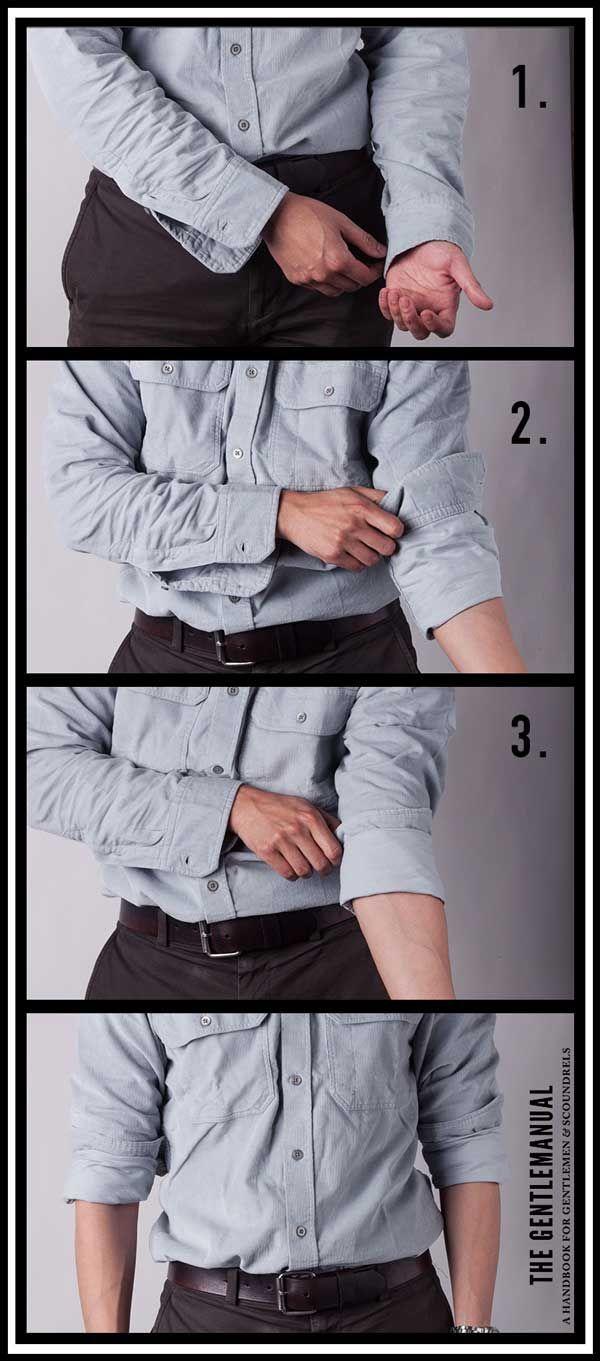 Como dobrar a manga da camisa: técnica clássica vs italiana - El Hombre