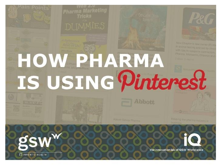 How Pharma is Using #Pinterest