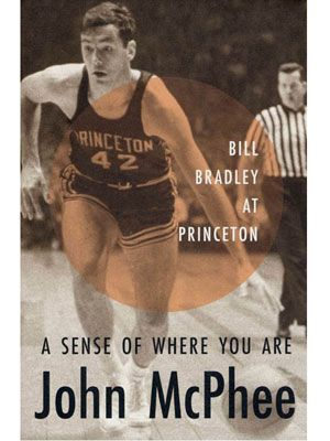 by John McPhee A slim but not slight meditation on a young basketball star named Bill Bradley. It's ostensibly about what it means to be gifted in that blessed, almost mystical definition of the word, but the book's essence is its overriding sense of promise: Here, two men who went on to become the best at what they do meet in empty gyms and college dormitories and decide between them what it will take to be great.