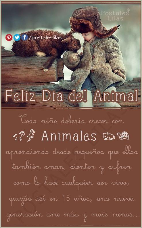29 de abril - Día del Animal