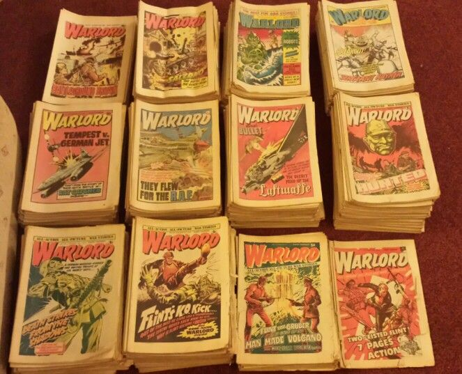 """500 copies of """"Warlord"""" comic coming up for sale soon!"""