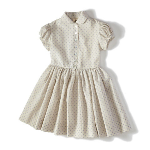 precious dress by pomme.  + pigtails + ballet flats = epic cuteness