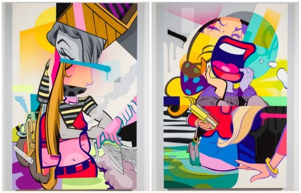 STREET ART SUPERSTARS POSE AND REVOK ADD COLOUR TO DUBAI THIS WEEKEND