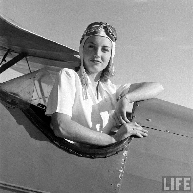 female stunt pilot member of death valley fliers 1944. Resume Example. Resume CV Cover Letter