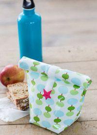 Lunchbag aus laminierten Stoffen von Free Spirit