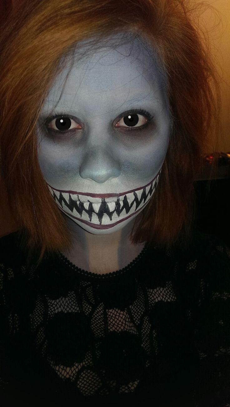Shark makeup