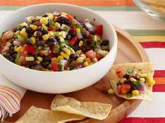 Mexican Black Bean and Corn SalsaFood, Beans Dips, Salsa Recipe, Mexicans Recipe, Beans Salsa, Mexicans Black Beans, Black Beans Corn Salsa, Mr. Beans, Blackbean