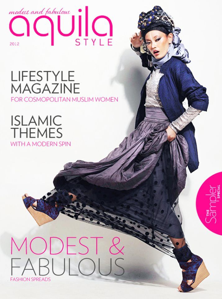 This sampler edition is complimentary from us to YOU.   It features a selection of our finest fashion editorials and an assortment of articles, offering you a glimpse into the world of cosmopolitan Muslim women. It's intelligent. It's fashion. And it's got your name on it.  There's more to this teaser album. Do check us out!  Aquila Style digital magazine is now available on Apple App Store and Google play.