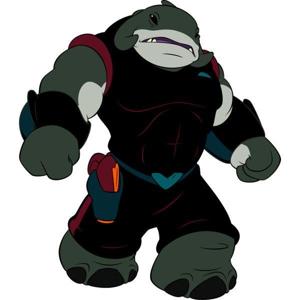Captain Gantu > Disney's Lilo and Stitch Cartoon Movie Character... ❤ liked on Polyvore