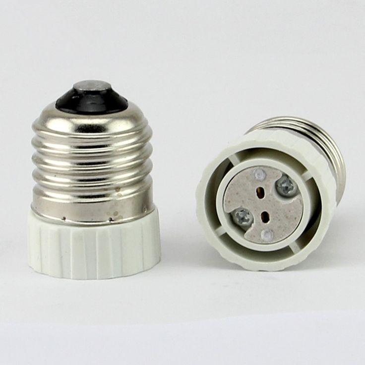 Fresh E to MR Lamp Holder Adapter Converter mr LED Light Lamp Adapter Screw Socket E Ceramic