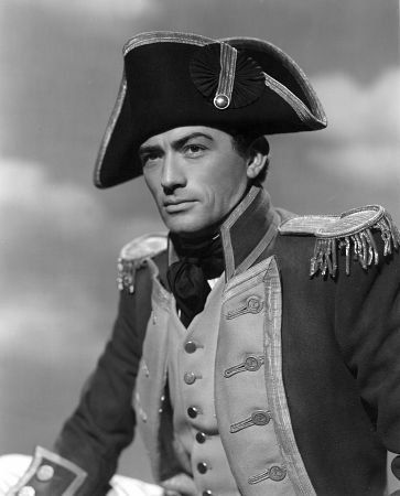 Gregory Peck as Captain Horatio Hornblower R.N.