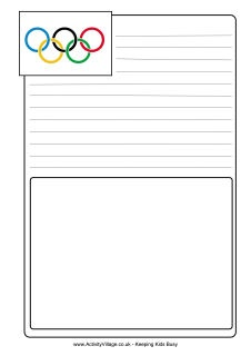 LOTS of Olympics printables for kids - a bunch of good ones for teachers to use…