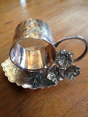 Toronto Silver Plate Co. Leaf Figural Victorian Napkin Ring