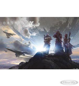 Destiny Poster Landschaft Hier bei www.closeup.de
