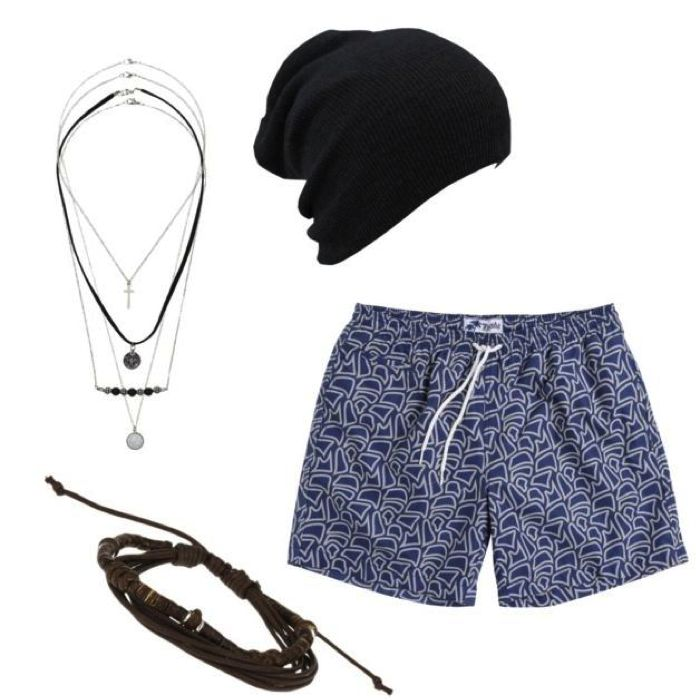 men's beach wear