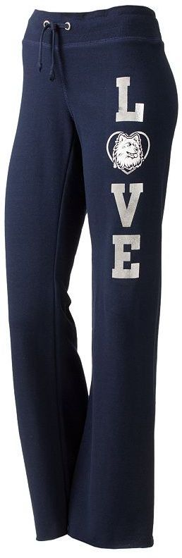 "Uconn huskies ""love"" rugby sweatpants - juniors thestylecure.com"