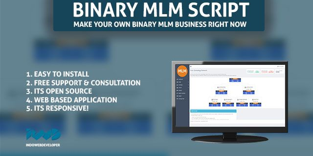 Best Web Based Binary MLM Application