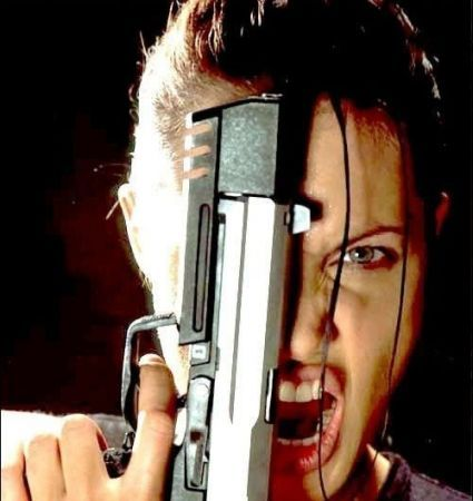 Professional Lara Croft Model and Angelina Jolie Look Alike. Image 1.