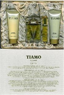 Tiamo Gift Set 3 Pcs. [ 3.4 oz. Eau De Parfum Spray + 6.8 Oz. Gel + 6.8 Oz. Body Lotion ] Women by Tiamo. $19.99. 100% Original Fragrance. No Imitations or Knockoffs. 30 Day Money Back Guarantee. Super Fast Shipping With Tracking Information. Tiamo Gift Set 3 Pcs. [ 3.4 FL. Oz / 100 ml. EDP Spray + 6.8 Oz. Gel + 6.8 Oz. Body Lotion ] Women. All Perfumes, Colognes and other body products we sell are name brand originals, produced and bottled by the original manufactu...