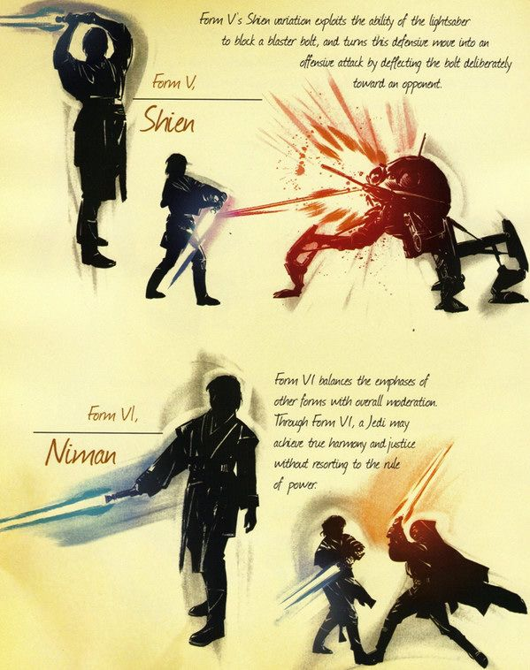 The 7 Forms of Lightsaber Combat (Part 5)