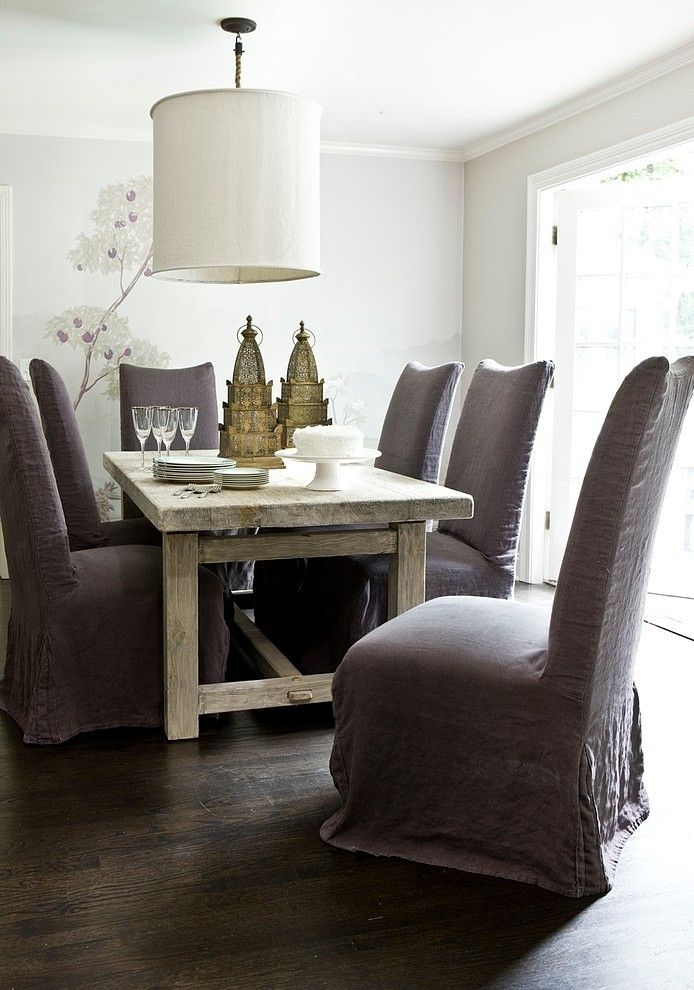116 best Slipcovers images on Pinterest Chairs Dining chair
