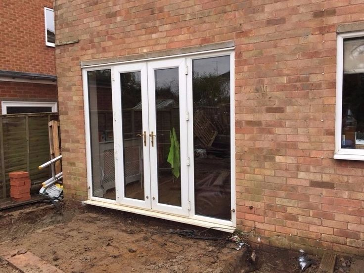 Double Glazed French Doors With Side Panels