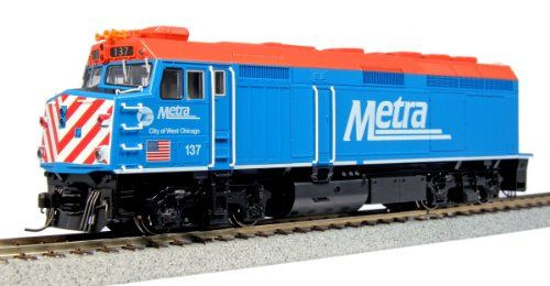 KATO HO SCALE EMD F40PH LOCOMOTIVE CHICAGO METRA #137 'CITY OF WEST CHICAGO'... pPROTOTYPE INFORMATION: The EMD F40PH is synonymous with the Amtrak era of American passenger trains. Although it h...