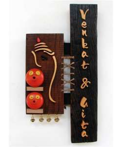 Home :: Home Decor :: Wall Decor :: Terracotta name plates :: Equisite Hand Crafted Gate Name Plates