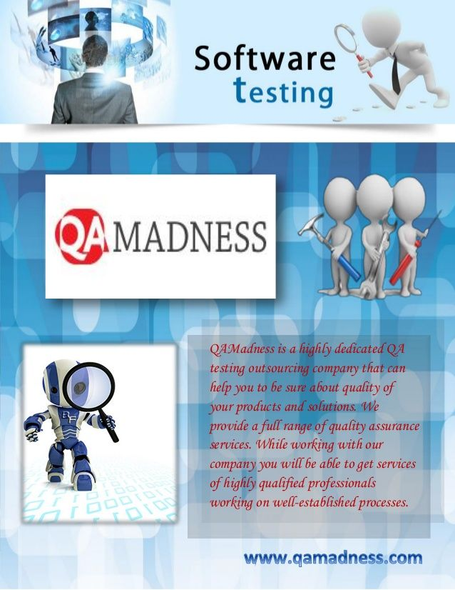 Software testing always trails back to back. It checks the effectiveness of the program and evaluates its output as per requirement. It is indeed important to hire a testing company to assist you. http://www.qamadness.com/