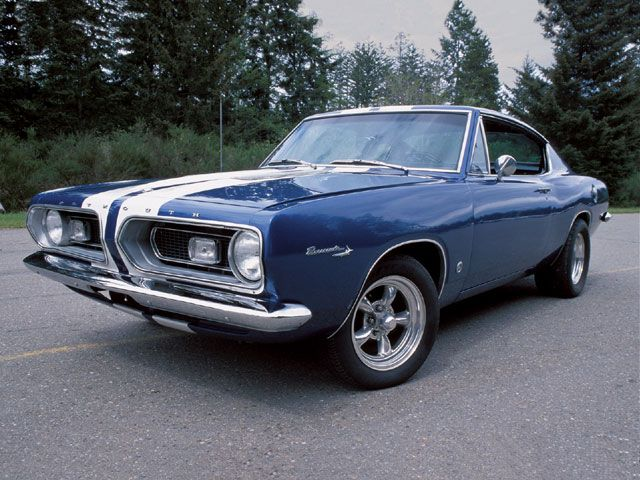 1967 Plymouth Barracuda Formual S Front Left